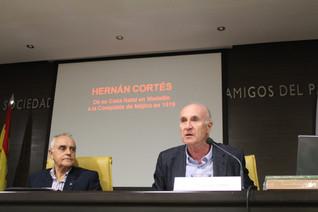 """D. Martín Almagro reivindica en La Económica la recreación de la casa natal de """"Hernán Cortés"""""""