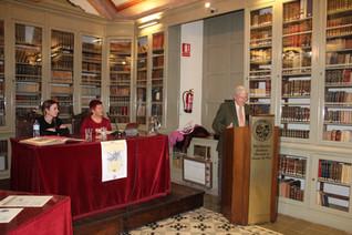 """Presentación """"Boletín de la Biblioteca de la RSEEAP"""" nº 4"""