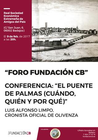 """Conferencia: """"El Puente de Palmas (cuándo, quién y por qué)""""."""