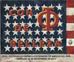"""Conferencia """"Con φ de Belleza"""", D. Pedro Casero Linares 30/11/2017 20.00 h."""