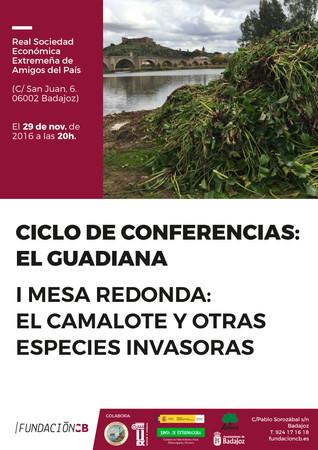 """Mesa redonda: """"El Camalote y otras especies invasoras"""" 29/11/2016"""
