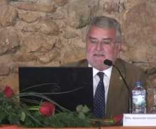 """Conferencia """"Cómo utilizar las energías renovables, cuando y donde queramos""""D. Francisco Cuadros Bl"""