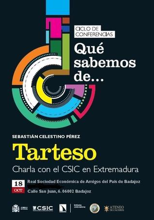 "Conferencia ""Tarteso"", D. Sebastián Celestino Pérez. 18/10/2017 20.00 h."
