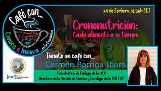 Café con... Carmen Barriga Ibars 24/02/2021, 18.30 h.