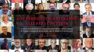 """Presentación del libro """"Los periodistas estábamos allí para contarlo"""", 17/12/2018 19.30 h."""