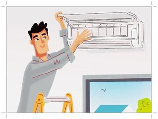 Tire você mesmo às impurezas do ar condicionado e reduza seus    gastos mensais.