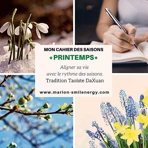 Cahier des Saisons *Printemps*