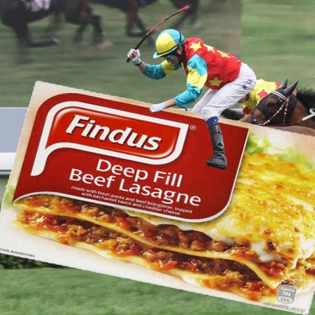 "Findus ""Beef"" Lasagne Jockey"
