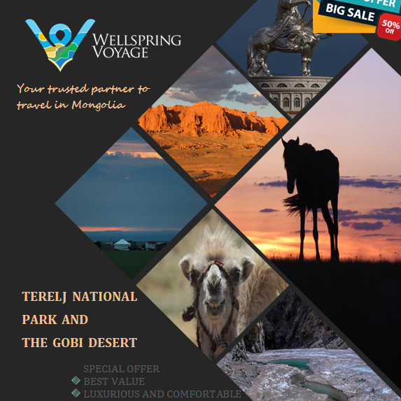 Terelj National Park and the Gobi Desert