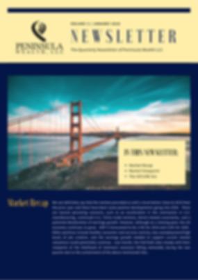 Peninsula Wealth Newsletter January 2020