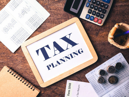 Year End Tax Reminders