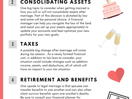 Infographic: How Marriage Impacts Your Financial Planning