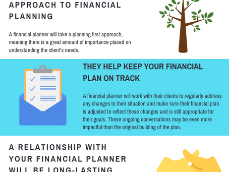 Infographic: The Benefits of Working with a Financial Planner
