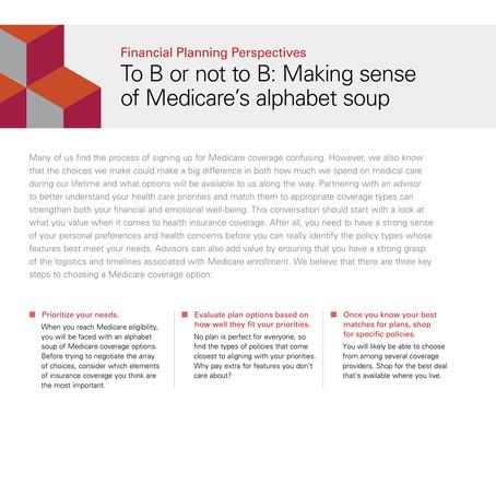 Making Sense of Medicare Options