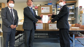 和歌山県保険医学会にマスク4000枚を寄付しました