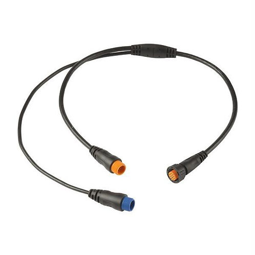 Garmin Y-cable 12pin + 8pin trans to 12pin Sounder