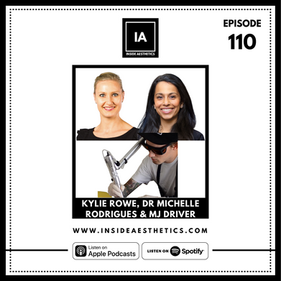 Episode 110 -  Kylie Rowe, Dr Michelle Rodrigues & MJ Driver