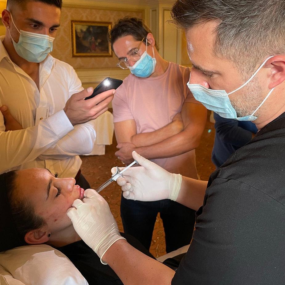 Dr Jake training injectors