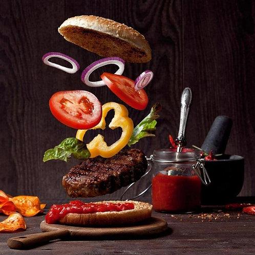Набор для бургера, 1 набор, 150 гр