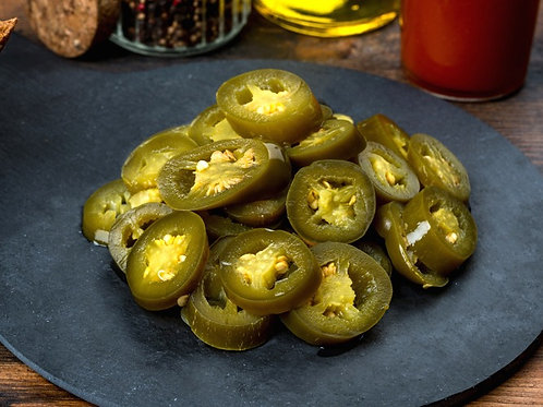 Перец халапеньо, нарезанный, 15 гр