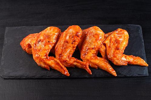 Куриные крылья в соусе BBQ, 300 гр
