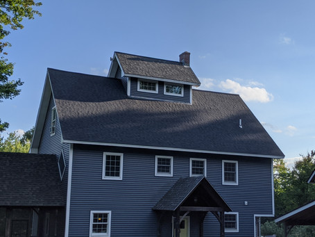 Certainteed Black Roof Replacement in Concord, NH