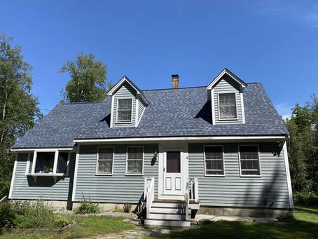 Certainteed Landmark Pro Roof intalled in Francestown, NH!