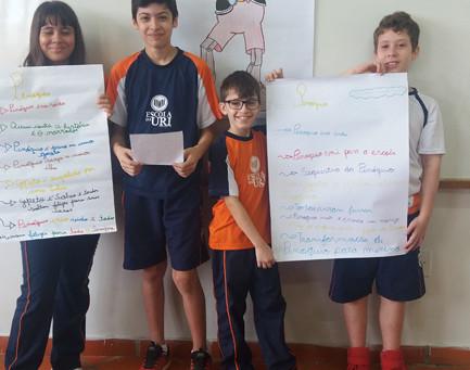 Turmas do 7º ano realizaram prática de leitura a partir dos clássicos infantis