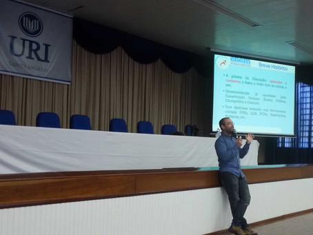 Escola da URI encerrou preparação para o Enem com palestra