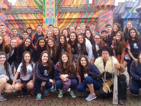 Escola da URI realizou viagem de estudos à Santa Catarina
