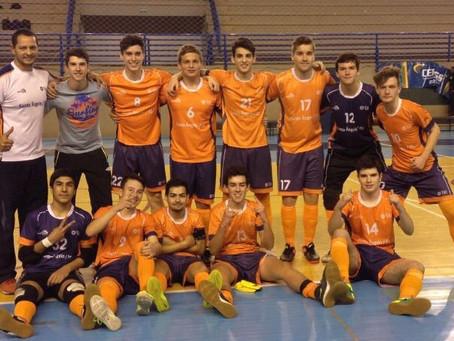 Escola da URI rumo ao Campeonato Brasileiro Escolar de Futsal Masculino