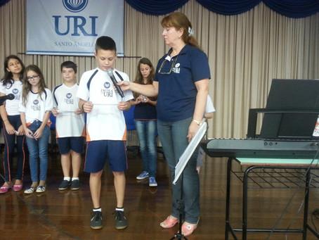 Reflexões, mensagens e partilha marcaram a celebração de Páscoa da Escola da URI