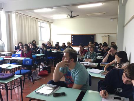 Agronomia encerrou o Cliclo de Palestras de Orientação Profissional da Escola da URI