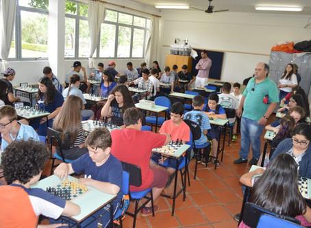 II Copa URI de Xadrez reuniu 50 alunos de 8 escolas