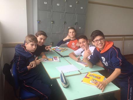 Alunos do 7º ano da Escola da Uri desenvolvem jogo na disciplina de história