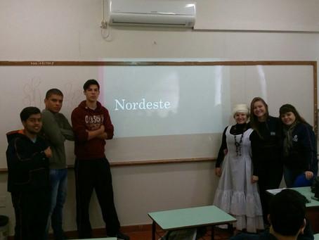 Turma 231 da Escola da URI realizou trabalhos sobre as regiões brasileiras