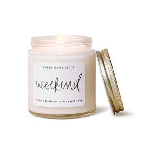 Weekend Mini Soy Candle
