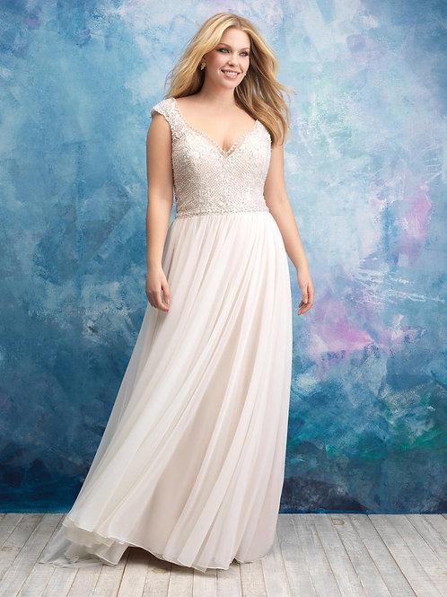 Allure Bridal W437 -size 24