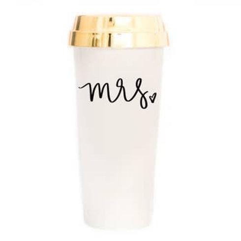 Mrs Gold Travel Mug