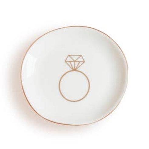 Engagement Ring Jewelry Dish