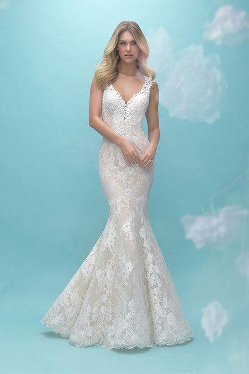 Allure Bridals 9464- size 14