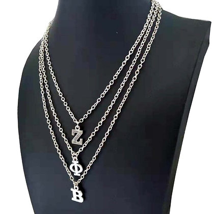 D9 Sorority  Multilayer Chain Custom Necklace