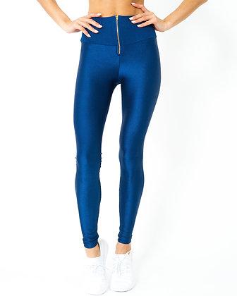 Glam Body Sculpting Leggings - Navy Blue