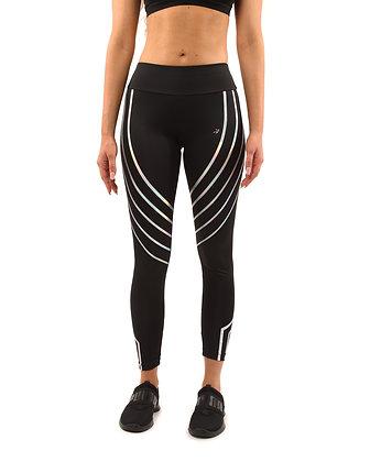 Leggings Stripe - Black