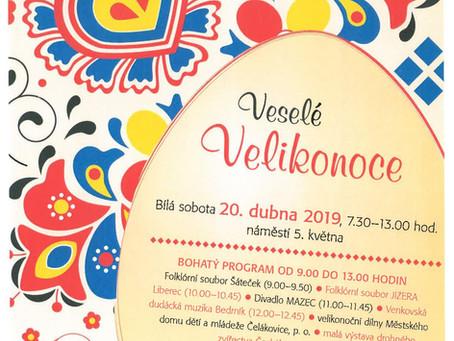 Tradiční čelákovický velikonoční jarmark již 20. dubna!