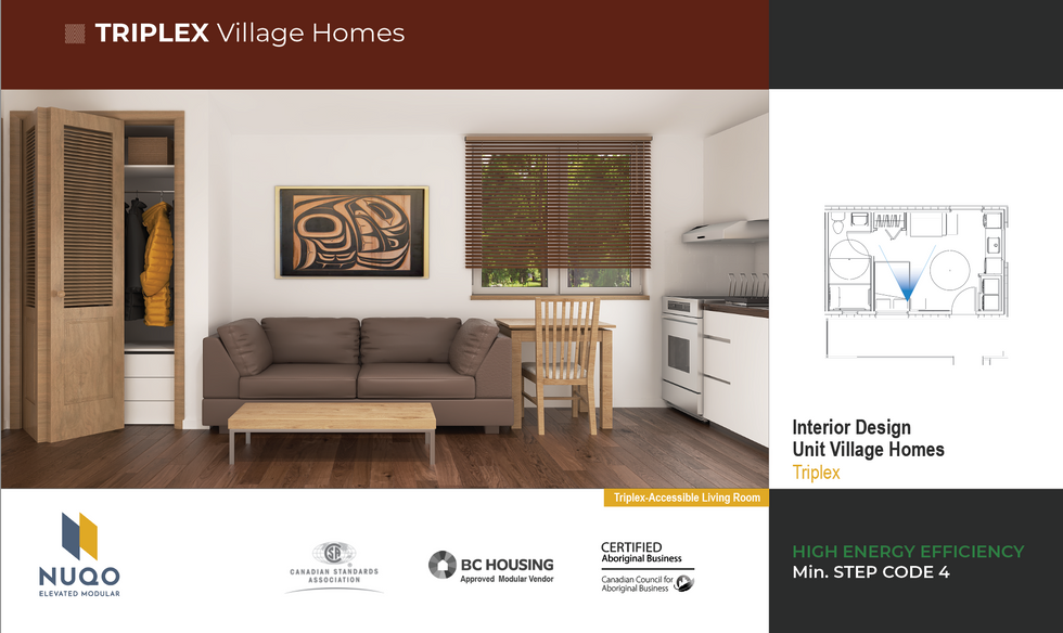 nuqo triplex village homes