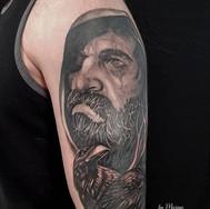 odin ravens sleeve tattoo stalbert maximumcolour