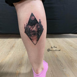 tattoo mountains geometrical nature stalbert maximumcolor