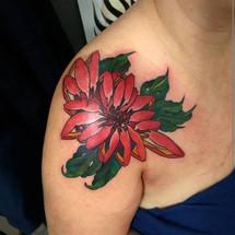 Chrisantemum tattoo