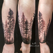 spruce wrap around tattoo